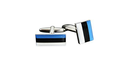 Flaggenfritze® Manschettenknöpfe Fahne / Flagge Estland