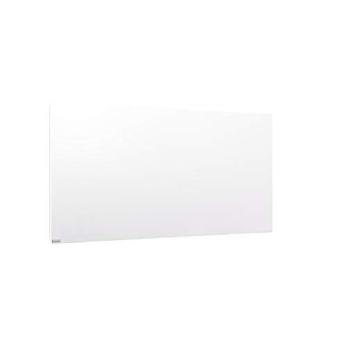 ETHERMA LAVA® Infrarotheizung, 500 W, 63 x 90 x 2,6 cm, Oberfläche aus Stahlblech, Made in Austria, TÜV, 5 Jahre Garantie, Farbe: weiß, LAVA2-STEEL-500-W