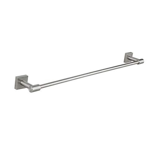 304 Cuarto de baño de acero inoxidable Toalla Single Pole Baño Moderno Minimalista Toalla Poste Gancho de baño-50 cm