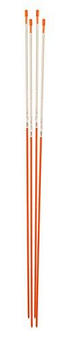 "Blazer International 381ODM-4 48"" Orange Reflective Driveway Marker, 4 Pack"