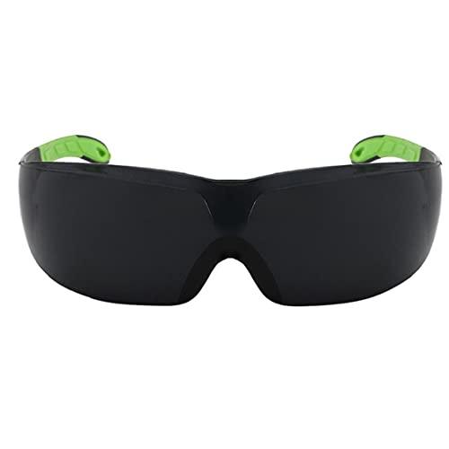 Hainice Gafas de Seguridad Anti Niebla UV Protección Gafas de Montar a Caballo con Garras Antideslizantes para Adultos Negros
