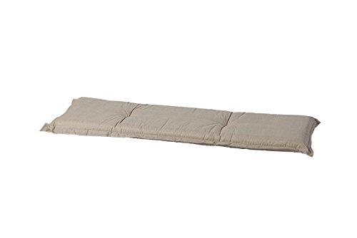 Madison Auflage Bank 50% Baumwolle/50% Polyester-Basic Sand, Sand, 120 x 48 cm