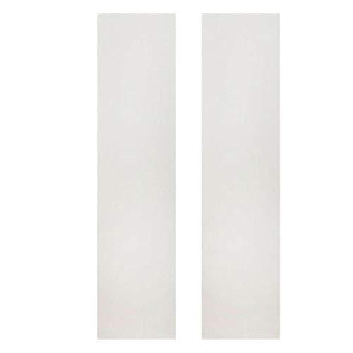 Basage Paquete de 2 Cintas Adhesivas Antideslizantes para Patinetas, Adhesivas para Patinetas Longboard, Doble BalancíN
