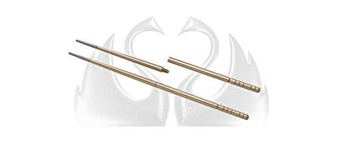 Due Cigni 2C 1200 B Udon Baquetas Sushi de titanio anodizado