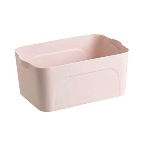 Heigmz Zwl Aufbewahrungsboxen für Kleidung, Spielzeug, Kleinteile, Schränke, Schlafzimmer und mehr, 2 Stück, (pink) Größe: 30 x 20,8 x 13,5 cm