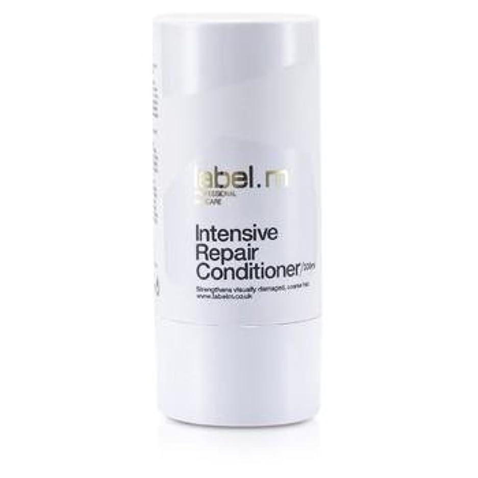 塩辛いスポーツマンいまLabel MIntensive Repair Conditioner (For Visually Damaged, Coarse Hair) 300ml/10.1oz【海外直送品】