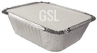 100 contenitori per alimenti con coperchi in alluminio GeneralStoresLtd