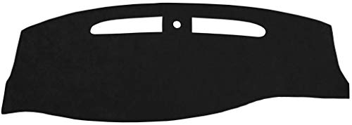 Seat Covers Unlimited Chevy Trailblazer Dash Cover Mat Pad - Fits 2002-2009 (Custom Suede, Black)