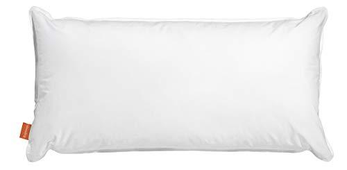 sleepling 190112 Wasserkissen Bezug aus 100{2a0c2244990bc71725e499902167e007eefe0c29068de7a5dd18f0caf5dcd58e} Baumwolle, 50 x 70 cm, weiß