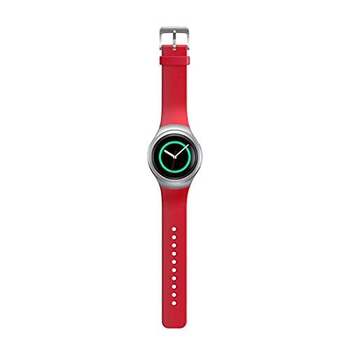 XUEMEI Silicone Smart Watch Band Correas De Colores Sólidas para Samsung Gear S2 SM-R720 SM-R730 Pulsera Deportiva Correa Adulto (Color : 4)