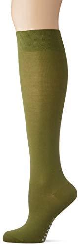 FALKE Damen Cotton Touch Socken, grün (forest 7657), 35-38