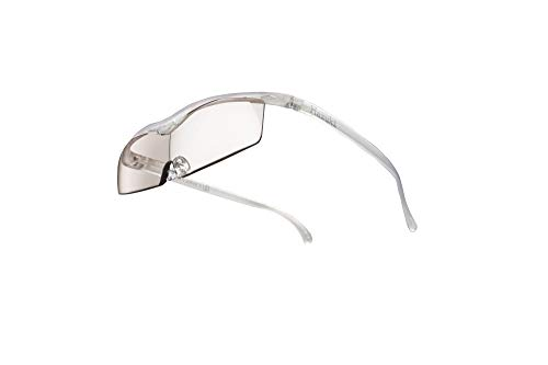 Hazuki ハズキルーペ 直営店 公式店 限定 倍率交換保証付き コンパクト 1.32倍 カラーレンズ パール ハズキ 拡大鏡 ルーペ メガネ型 眼鏡型 めがね型 メガネ 眼鏡 めがね 日本製 MADE IN JAPAN ギフト
