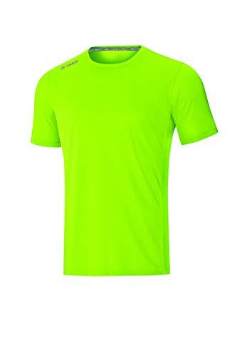 JAKO T-Shirt pour Enfant Run 2.0, Vert Fluo, 152