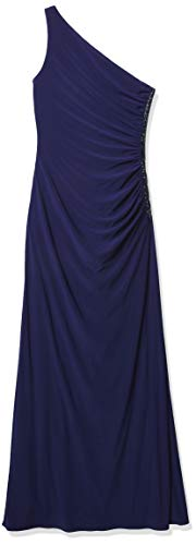 Big Sale Laundry by Shelli Segal Women's One Shoulder Beaded Gown,Midnight,2