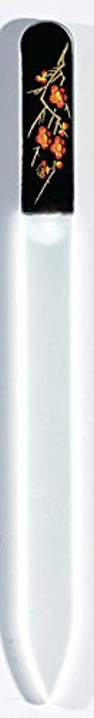 オーバーフローカウンターパート登る蒔絵 ブラジェク製 爪ヤスリ 二月 梅 紀州漆器