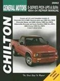 GM S-Series Pickups & SUVs 1994-2004 (Chilton's Total Car Care Repair Manuals) [Paperback] [2005] (Author) Chilton