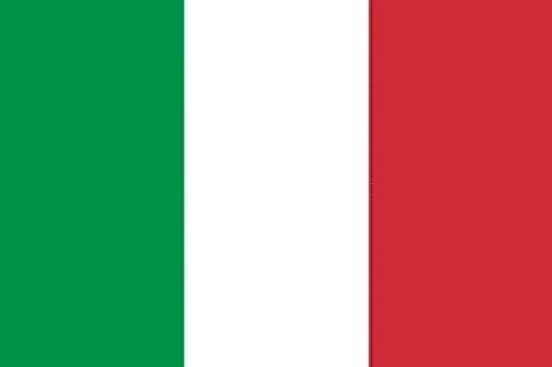 Qualitäts Fahne Flagge Italien 90 x 150 cm mit verstärktem Hissband