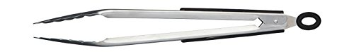 masterclass KCPROTONGS30 Master Class Deluxe Pince, Acier Inoxydable, Argent, 30 cm (12 inch)