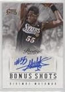 Dikembe Mutombo (Basketball Card) 2013-14 Panini Prestige - Bonus Shots Autographs #81