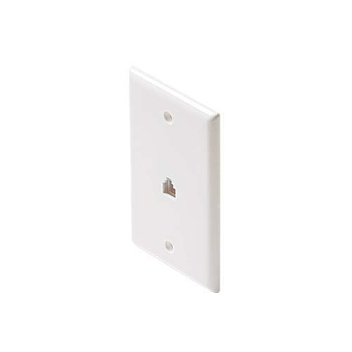 Steren 300-204IV Standard 4C Ivory Wall Max 79% OFF Plate Jack Ranking TOP17 Smooth Flush