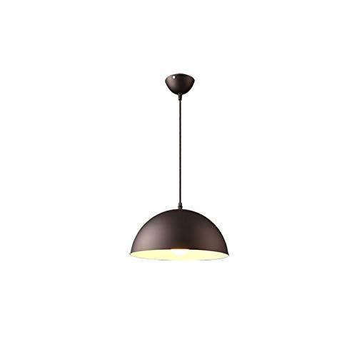 Personalidad creativa pendiente de la luz de una sola cabeza semicírculo Droplight moderno y sencillo de la lámpara Macaron Lámpara de suspensión creatividad ilumina la vida, vamos araña le trae calor
