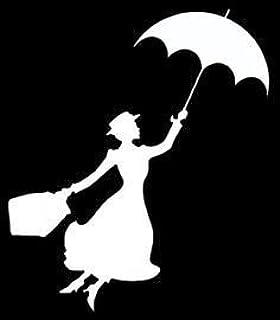 María Poppins con paraguas NOK calcomanía de vinilo | Coches ...