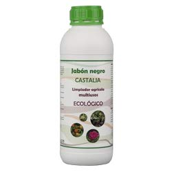 Castalia - Jabón Negro Ecológico - Formáto 1 litros - Potencia la acción de Productos fitosanitarios Frente a plagas como pulgón, Mosca Blanca, araña roja o Trips.