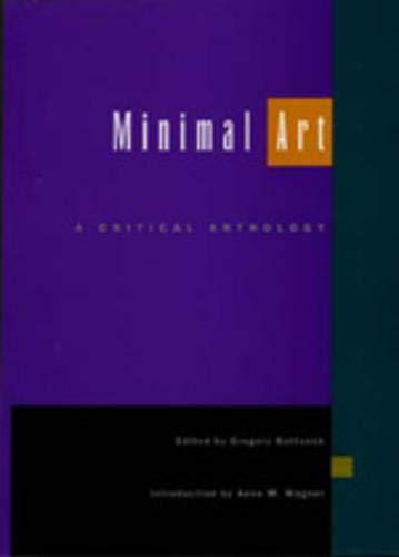 Minimal Art: A Critical Anthology