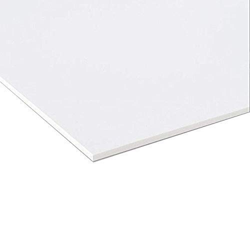 Pannello Lastra Forex pvc bianco spessore 1 cm 100x50 cm bianco forex bianco pvc bianco