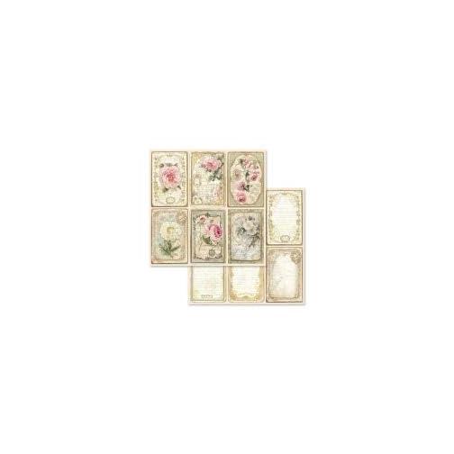 Stamperia - 12 x 12 Paper Pad - Precious |