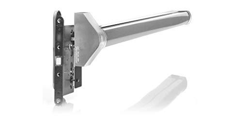 Tesa Assa Abloy QUICK1E908GG - Barra Antipánico Quick,Puertas de 900mm,Gris