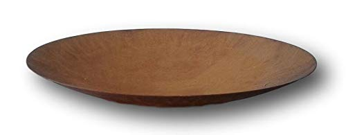 terracotta-toepfe-de Schale ca. 50 cm aus Metall - Edelrost Rost Eisen Deko Garten Feuerschale 0,8 mm