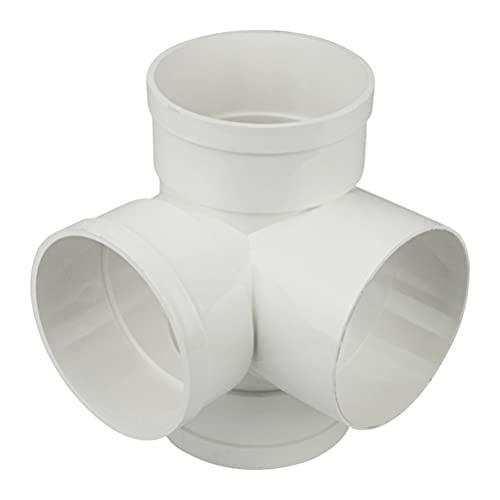 POPETPOP Quick Connect Push- In zu Verbinden für Wasser System Wasser Rohr Fitting Set 4- Weg Joint PVC Links Fitting Wasser Rohr Anschlüsse Wasser Schlauch Adapter