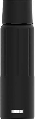 SIGG Gemstone IBT Obsidian Botella termo (0.75 L), cantimplora térmica y aislante sin sustancias nocivas, termo hermético de acero inoxidable