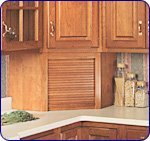 Corner Appliance Garage Hickory by National