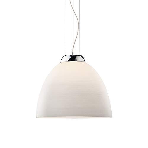 Ideal Lux Tolomeo SP1 D40 Bianco Lampada a sospensione E27, 400 x 1050 cm