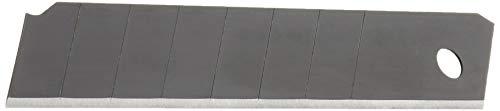 Amazon Basics - Abbrechklingen, 18 mm (7 Bruchstellen), Karbonstahl, Box mit 100 Stück