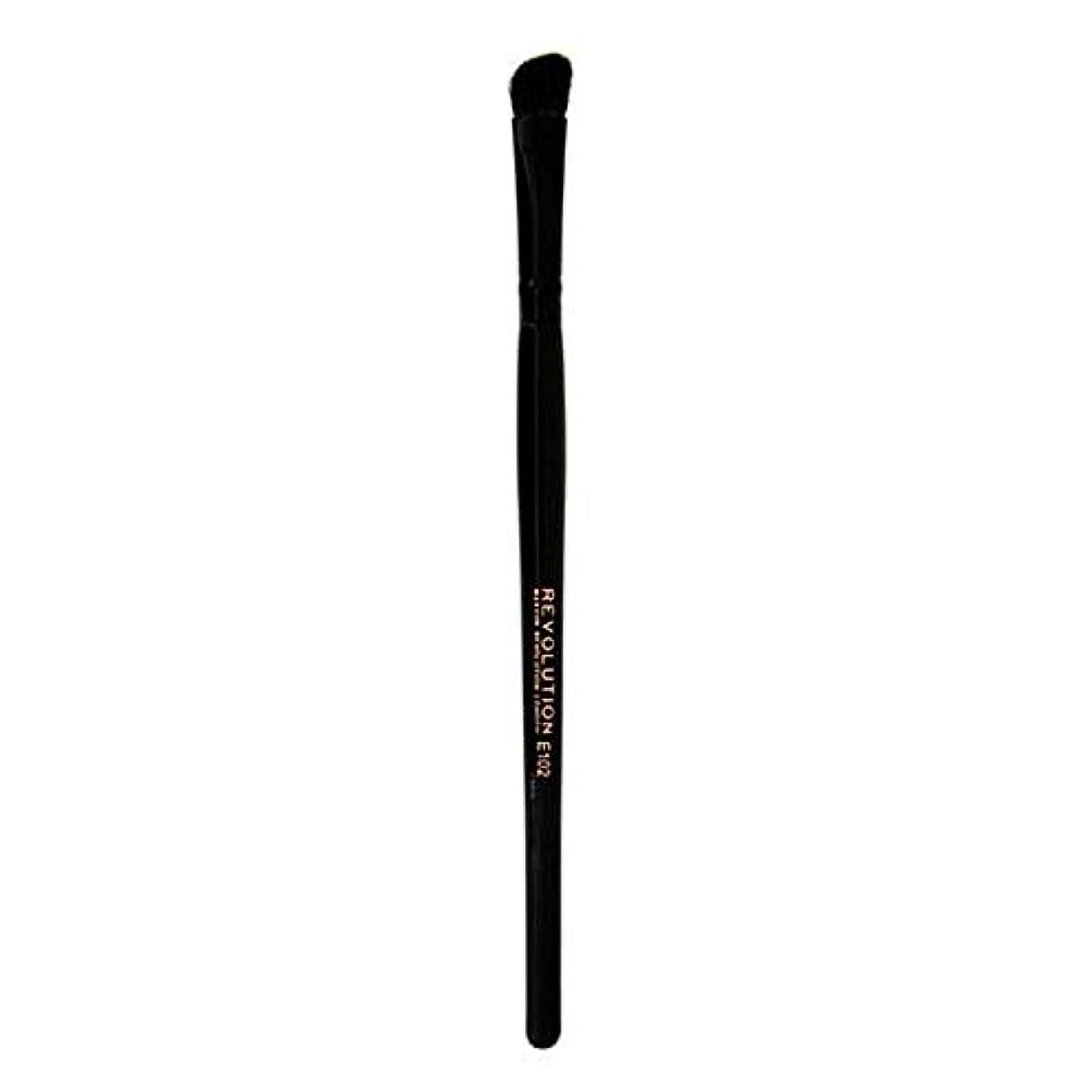 顔料毒性永久[Revolution ] 革命プロE102アイシャドウの輪郭メイクブラシ - Revolution Pro E102 Eyeshadow Contour Makeup Brush [並行輸入品]