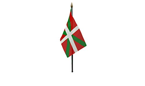 Flagmania® Baskische Flagge, 15,2 x 10,2 cm