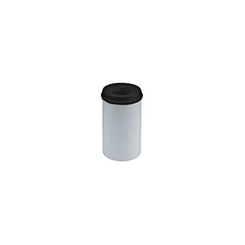 V-part corbeille à papier en métal gris 20 litres multicolore