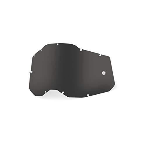 100% Unisex-Adult Racecraft/Accuri/Strata Replacement Sunglass Lenses, Dunkler Rauch, Erwachsene