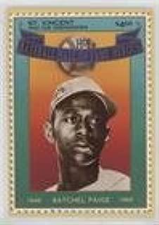 Satchel Paige (Baseball Card) 1992 St. Vincent and the Grenadines Baseball Hall of Fame Heroes Stamp Cards - Box Set [Base] #8