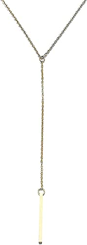 ZGYFJCH Co.,ltd Collar de Moda Simple Colgante de Palo Largo Collares para Mujeres Pulseras niñas niño Regalo