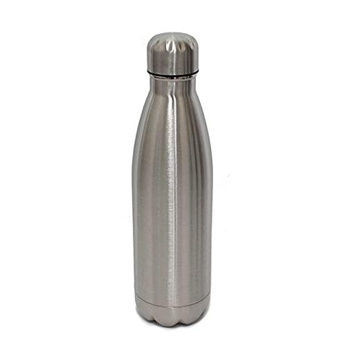 Bottiglia di acqua isolata dell'acciaio inossidabile 18oz, bottiglia di acqua della doppia parete di vuoto, thermos della fiaschetta di sport