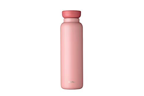 Mepal Thermo Ellipse 900 ml-Nordic pink – hält Getränke Lange kalt oder heiß – Edelstahl-Trinkflasche – doppelwandig isoliert – auslaufsicher