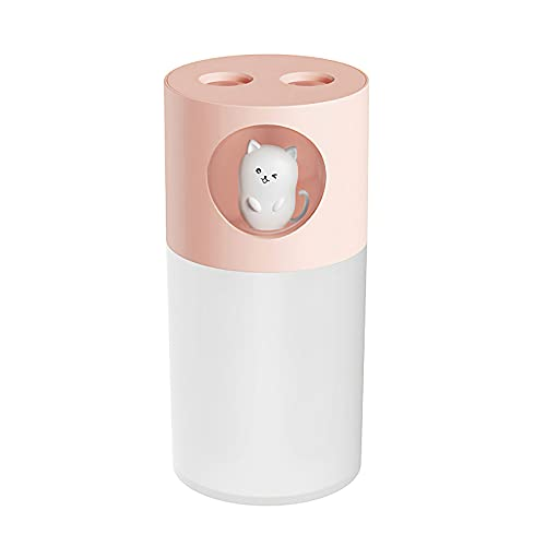 Humidificador 270 ml, porcyco, purificador de aire silencioso, humidificador de ambiente, para dormitorio, oficina, yoga, coche