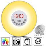 totobay Wake Up Light, 2nd Generation} Sunrise Simulation Snooze Alarm Clock Bedside Night Light...