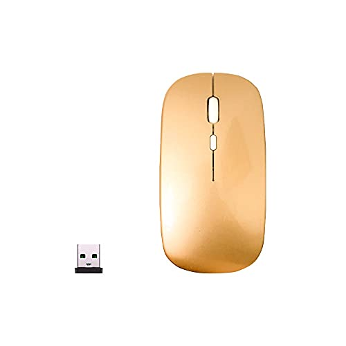 F16 Wireless Mouse 2.4G Wireless Mouse, Mute, Silent Click, Mini Silent Noise Optical Mice, Ultra Thin, 1600 DPI for Notebook PC Laptop Computer TV Box Windows Android Tablet