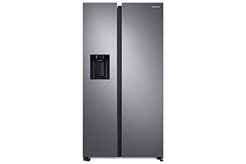 SAMSUNG RS68A8522S9, Frigorífico Side by Side, 634L, Inox, Tecnología SpaceMax, Twin Cooling Plus, Smart Conversion, Precise Cooling, Compresor Digital Inverter, Sistema No Frost