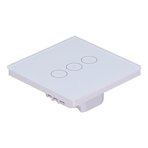 Interruptor táctil de Pared, Interruptor táctil de Control Remoto con Tornillo para la Familia para lámparas LED de atenuación Continua Lámparas incandescentes